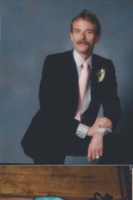 Jamie on his brother Jeff's wedding day 1986